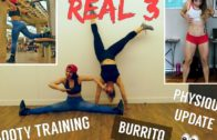 FOODporn.pl REAL 3 : Booty training avec Gladys / Physique update & Foodporn