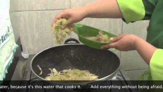 Search for a new FoodTube Star - Regina Tchelly, Favela Orgânica - Watermelon Rind Risotto