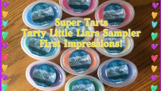 Super Tarts: Tarty Little Liars Sampler, Unboxing & First Impressions!