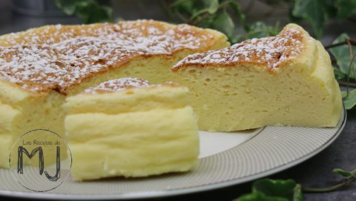 TARTA DE QUESO JAPONESA (JAPANESE COTTON CHEESECAKE) | Pastel esponjoso