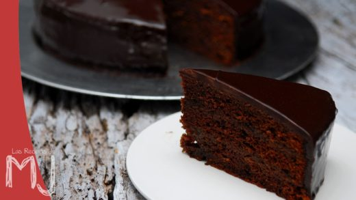 TARTA SACHER | Glaseado de chocolate
