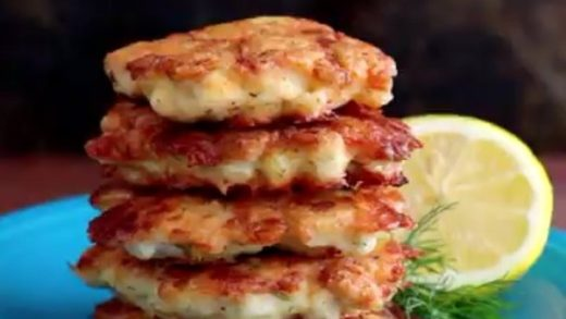 TASTES LIKE HOME! Cheesy Chicken Fritters FULL RECIPE:  By                              ...