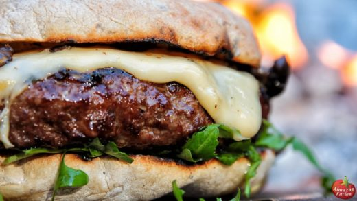 THE.BEST.CHEESEBURGER - FOODPORN WARNING!  Cooking in the Forest