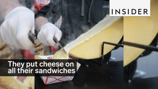 This NYC food stall puts gooey cheese on all its sandwiches
