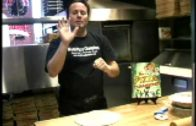 FOODporn.pl Tossing pizza dough – instructions by Tony Gemignani