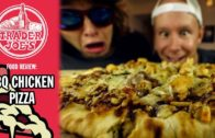 FOODporn.pl Trader Joe's BBQ Chicken Pizza Food Review