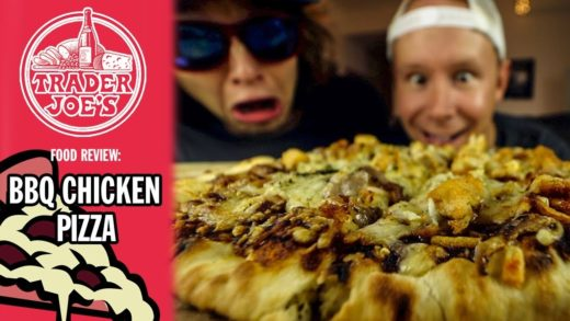 Trader Joe's BBQ Chicken Pizza Food Review