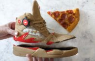 FOODporn.pl What's inside Pizza Ordering Shoes?