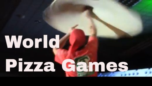 World Pizza Games Pizza Tossing Argentina Champion