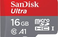 Karta pamięci SanDisk Ultra 16 GB microSDHC + adapter do 98 MB / s, klasa 10, U1, A1   SHOOP @ FOODporn.pl