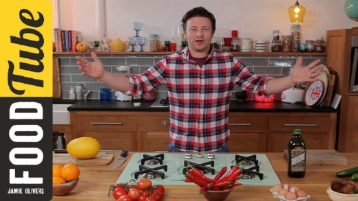 Welcome to Food Tube - message from Jamie Oliver