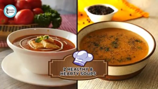 2 healthy and hearty soup recipes By Healthy Food Fusion