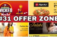 FOODporn.pl #31 OFFER ZONE – jalebi Movie Cashback offer, Pizza hut offer, zomato offer and more