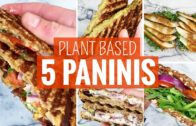 FOODporn.pl 5 Easy Panini & Toasted Sandwiches | Plant Based