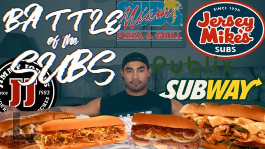 6 FEET OF SUB SANDWICHES | BATTLE OF THE SUB CHALLENGE!