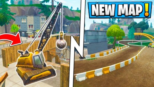 *ALL* Fortnite 6.1 Map Changes!   Tilted Towers, Pizza Truck, New Race Track!