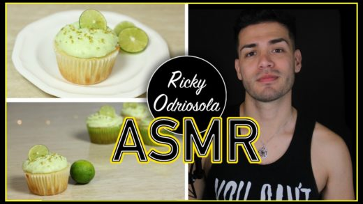 ASMR - Baking Key Lime Cupcakes  (Male Whisper for Relaxation & Sleep)