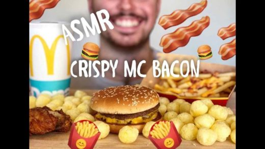 ASMR ITA || CRISPY MC BACON || Mc Donald's || Mukbang