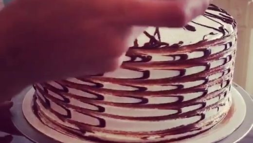 Absolutely mesmerized by this cake, seriously… can't stop watching  follow  follow  follow  ============================ Remember in my BIO you can find the best tools for the kitchen ============================  All rights and credits reserved to the res...