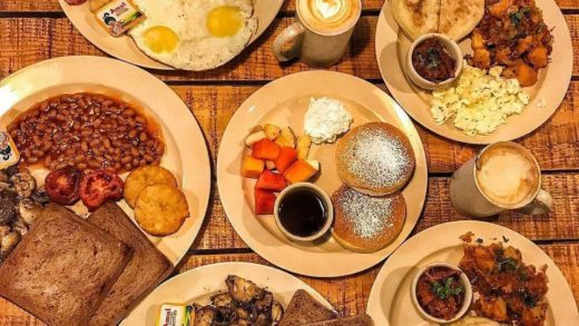 Authentic himalayan breakfast with baked beans, himalayan bread, bacon strip, sausages etc.  Tag your friends for a feasty breakfast.  Location: Ama Cafe, Majnu Ka Tila  By: ...
