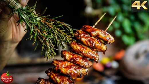 BEST & MOST EPIC BBQ WINGS YOU WILL EVER SEE!
