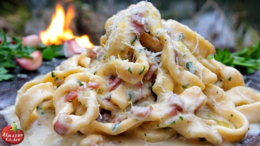 Best Carbonara Ever! - Cooking in the Forest