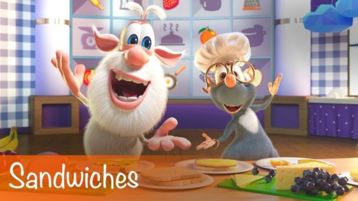 Booba - Sandwiches - Food Puzzle - Cartoon for kids