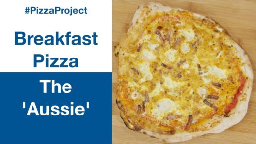 Breakfast Pizza 'The Aussie' In The Ooni Pro Wood Oven || Le Gourmet TV Recipes