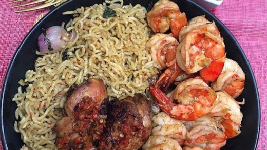 Breakfast in the  way! Even with extra Shrimps for those who would want more! Good morning and have a blessed Sunday!            ...