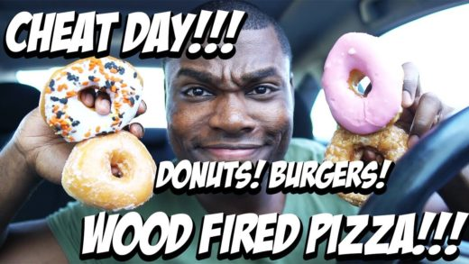 CHEAT DAY - DONUTS/CRACKER BARREL/WOOD FIRED PIZZA!