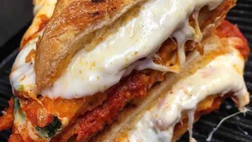 CHICKEN. PARM.  B&A's Widely Popular Chicken Parm Panini!!  The Chicken Cutlets, Marinara Sauce & Mozzarella are all HOMEMADE!!  :  : Dyker Height's, Brooklyn  TAG YOUR FRIENDS!! ...
