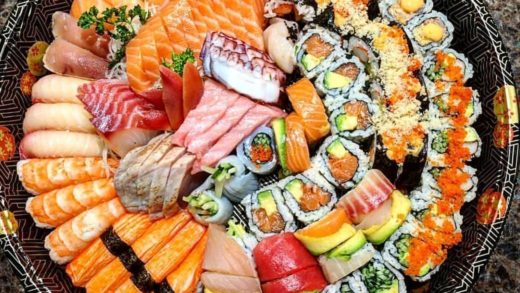 Can you finish all this Sushi by yourself?  Tag your  friends  By Unknown. DM for Credit....