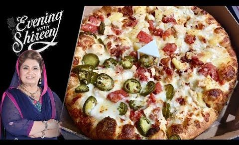 Chicken Ranch Pizza Recipe by Chef Shireen Anwar 1 October 2018