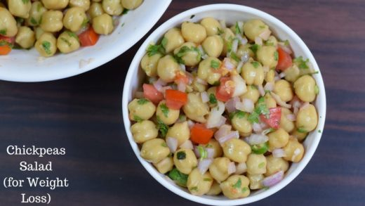 Chickpea Salad For Weight Loss | Healthy salad Recipe | Vegan Salad Recipe