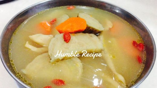 Chinese ARROW ROOT CHICKEN Soup