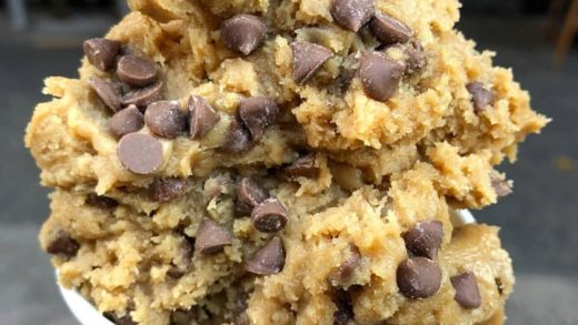 Classic chocolate chip cookie dough  A fan favorite at  I bet when you try it, it will be your fav too ...