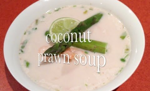 Coconut Prawn Soup Asian Style Thermochef video recipe cheekyricho