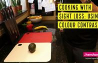 FOODporn.pl Cooking with sight loss: using colour contrast