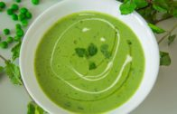 FOODporn.pl Creamed Green Peas Soup Recipe | Easy To Make Healthy Soup | By Teamwork Food