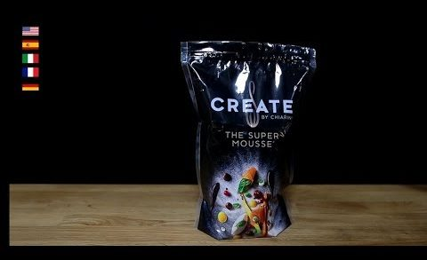"""""""Create"""" TSM = The Super Mousse - Thickening (Hot & Cold) Sauces & Soups Applications."""