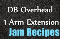 FOODporn.pl DB Overhead 1 Arm Extension – quick recipes – easy to learn