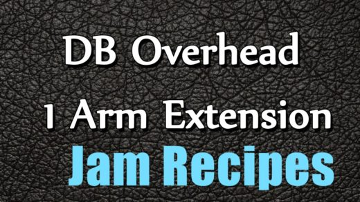 DB Overhead 1 Arm Extension - quick recipes - easy to learn