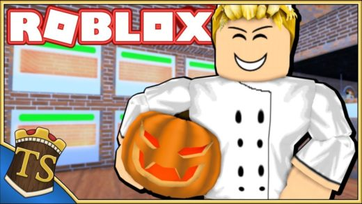 Dansk Roblox | Work At A Pizza Place - Halloween I Pizzariaet!