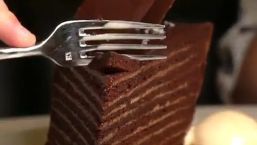 Delicious 24 Layer Chocolate Cake  Tag your friends   Follow us    &  Follow us    &   Turn on post notifications :  -        ...
