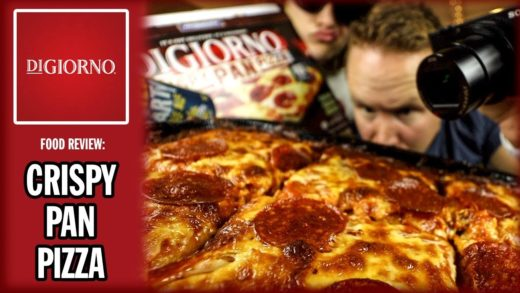 Digiorno's Crispy Pepperoni Pan Pizza Review with Walmart Craft Beer?!
