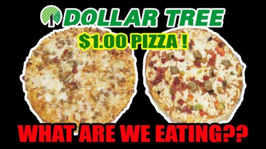 Dollar Tree $1.00 Pizzas - WHAT ARE WE EATING?? - The Wolfe Pit