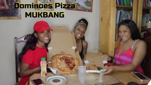 Dominoes Pizza MUKBANG | PETITE-SUE DIVINITII