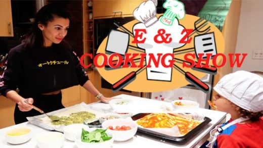 E & Z - COOKING SHOW - PIZZA