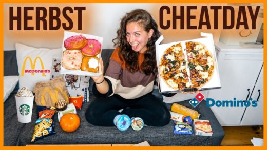EPIC HERBST CHEATDAY | Girl vs Food | Pizza, Donuts, Pumpkin Spice Latte, Burger...