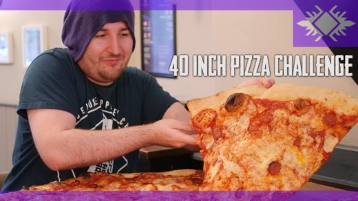 EPIC giant pizza challenge | Manchester Food | Can it be done?